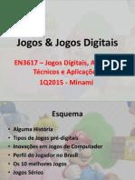 Jogos e Jogos Digitais - Introdução
