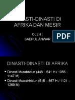 Dinasti-dinasti Di Afrika Dan Mesir