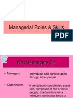 Roles and Skills