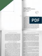 Shepsle & Weingast - Positive Theories