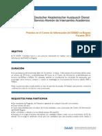 DAAD Busqueda Practicantes 2015