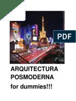 Arquitectura Posmoderna for Dummies