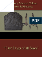 Food Preparation - Dog Irons, Andirons & Firebacks