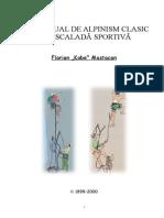 Alpinism, Mic Manual de Alpinism & Escalada - Florian Mastac