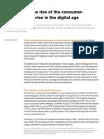 Rise of the Consumer Focused Enterprise