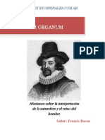 Francis-Bacon - Novum Organum