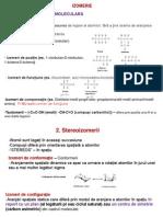 curs 4 - izomerie  aa, peptide, proteine  medicamente, enzime, etc  zaharide