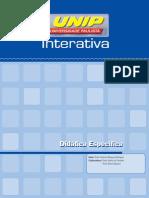 Didática Específica_Unidade I