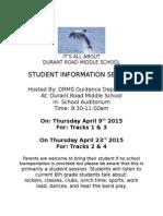 fifth grade flyer 2015