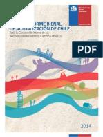 Informe Bienal Cambio climatico Chile