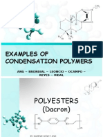 Examples of Condensation Polymers