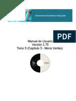 Manual Módulo Administrativo Tomo 4 (Menu Ventas)