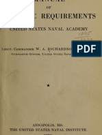 Manual of Athletic Requirements, United States Naval Academy - LT. Commander William A. Richardson, USN 1920
