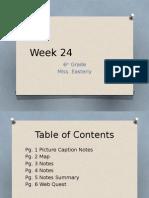 week 24-6th