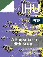 048cadernosihu - Empatia em Edith Stein