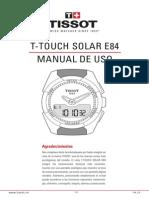 Tissot T-Touch Solar Español