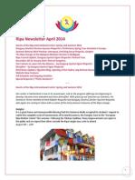 Ripa Newsletter April 2014 En