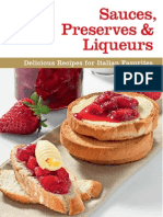 Sauces, Preserves & Liqueurs Delicious Recipes for Italian Favorites