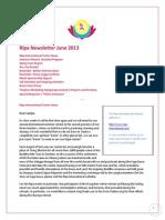 Ripa Newsletter June 2013 En