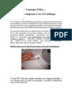 ITC, ATC y Consejos Útiles Antes de Empezar El Catálogo de Inventos y Adaptaciones Caseras.