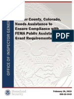Federal audit of Larimer County disaster spending