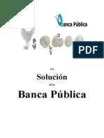 La Solución de La Banca Pública
