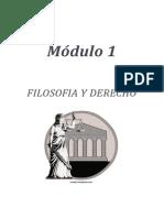 Filosofía Jurídica Módulo I