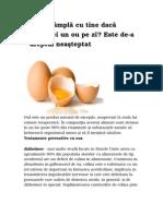 Un ou pe zi