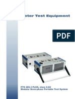 PTS 400 3 PLUS Overview English