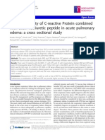 Diagnostic Utility of C Reactive Protein Combined