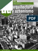 Revista Arquitectura y Urbanismo, 1/ 2015 (cujae)