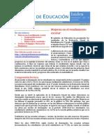 Informe de Educación de Iniden