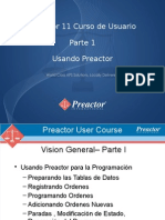 Preactor 11 User Course Parte I