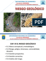 Cap 9 - Riesgo Geologico