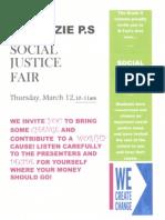 Social Justice Fair