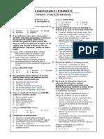II - Alfabetização e Letramento