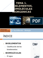 Bioelementos de biofisica