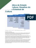 Uma Política de Estado Para a Cultura