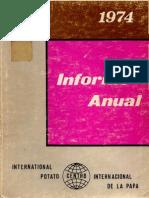 CIP Informe Anual 1974