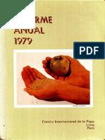 CIP Informe Anual 1979