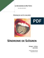 Sindrome de Sjögren
