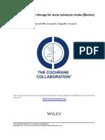 Cochrane Antiplatelets