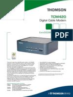 Thomson Tcm 420 Spec