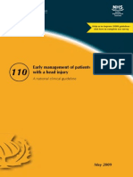 Early Management of Patients With Head Injury