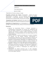 Aporte Manual Asistencial