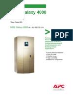 MGE Galaxy 4000