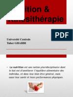 Nutrition & Kinésithérapie