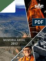 Cap Mineria Memoria 2013