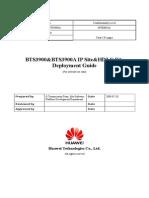 Bts3900&Bts3900a v3r8c11 Ip Site&Hdlc Site Deployment Guide_20090820_a_v1.1