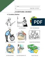 6th grade - housework chores worksheet .pdf